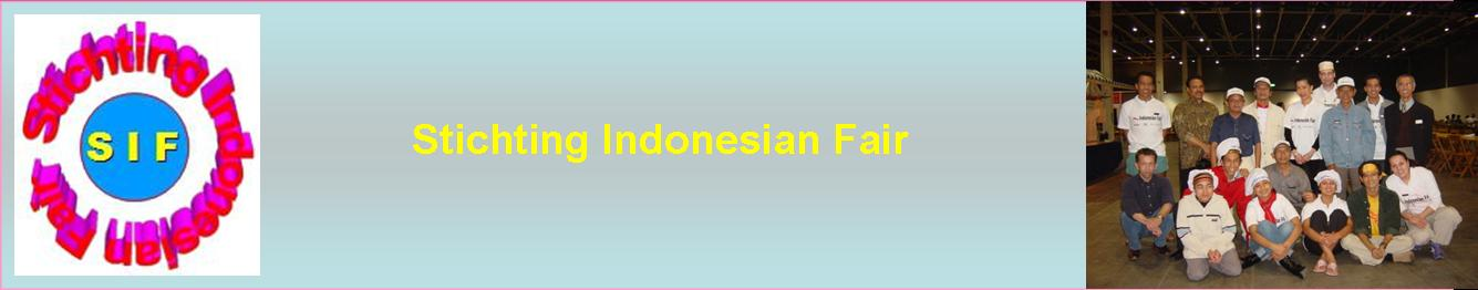 Stichting Indonesian Fair page header